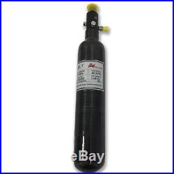 0.5L 4500psi Carbon Fiber Paintball Tank Air Fill Station Regulator for PCP Game