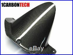 03-04 Honda Cbr 600rr Carbon Fiber Gas Tank Cover Hugger And Tank Panels Kit
