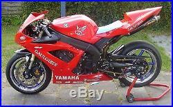 04-05-06 Yamaha Yzf R1 Fuel Tank Gas Airbox Cover Fairing 2004-2005-2006