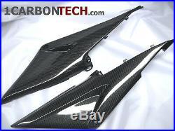 05 06 2005 2006 Honda Cbr 600rr Carbon Fiber Lower Tank Panels