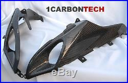 05 06 2005 2006 Suzuki Gsxr 1000 Carbon Fiber Ram Air Intakes Tank Panels Kit