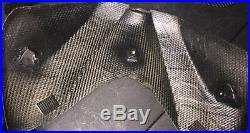 06 07 SUZUKI GSXR 600 750 CARBON FIBER RAM AIR Cover Tank Rear Tail Cap 19.56