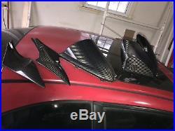 06 07 Suzuki GSXR 600 750 Carbon Fiber Gas Tank Cover, side Fairings &Windshield