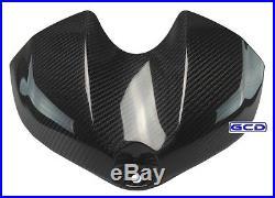 08-15 Yamaha YZF-R6 Fuel Gas Tank Air Box Cover Fairing 100% Twill Carbon Fiber