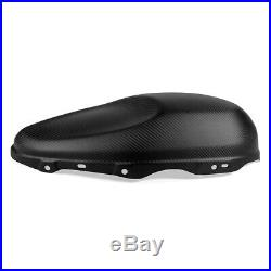 100% Carbon Motorcycle Side Tank Covers Matt Black For Yamaha XSR 900