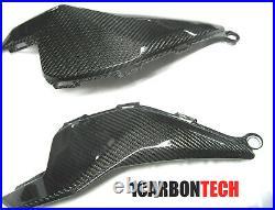 12 13 14 15 2016 Honda Cbr 1000rr Carbon Fiber Lower Tank Panels L-r