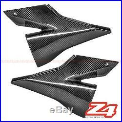 2004 2005 Ninja ZX-10R Gas Tank Side Trim Knee Cover Fairing Cowl Carbon Fiber