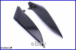 2004-2006 R1 Carbon Fiber Tank Side Panels Upper Cover Fairing Trim Cowl 2005