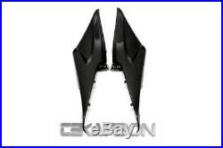 2005 2006 Honda CBR600RR Carbon Fiber Side Tank Panels 1x1 plain