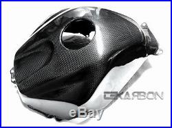2005 2006 Honda CBR600RR Carbon Fiber Tank Cover 1x1 plain weave