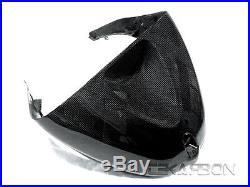 2005 2006 Kawasaki ZX6R ZX 6R Carbon Fiber Tank Cover 1x1 Plain weave
