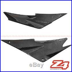 2005 2006 Ninja ZX-6R Gas Tank Side Cover Trim Panel Fairing Cowl Carbon Fiber