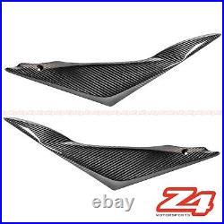 2005 2006 Suzuki GSX-R 1000 Carbon Fiber Gas Tank Side Seat Cover Cowl Fairing