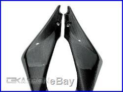 2005 2006 Suzuki GSXR 1000 Carbon Fiber Side Tank Panels 1x1 plain weaves