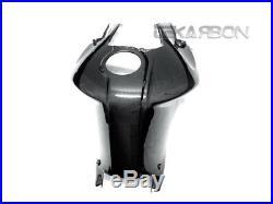 2005 2012 BMW K1200R / K1300R Carbon Fiber Tank Cover 1x1 plain weaves
