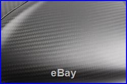 2005 2012 BMW K1200R / K1300R Carbon Fiber Tank Cover 2x2 twill matte