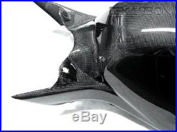 2006 2007 Honda CBR1000RR Carbon Fiber Tank Cover 1x1 plain weave