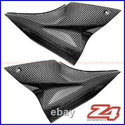 2006 2007 Ninja ZX-10R Carbon Fiber Gas Tank Side Trim Cover Panel Fairing Cowl