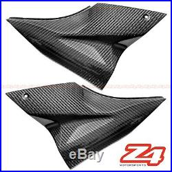 2006 2007 Ninja ZX-10R Gas Tank Side Trim Cover Panel Fairing Cowl Carbon Fiber