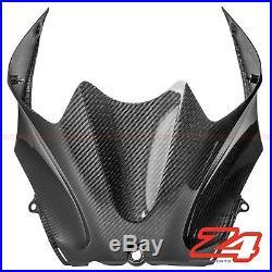 2006-2011 Kawasaki ZX-14 ZZR1400 Gas Tank Front Cover Fairing Cowl Carbon Fiber