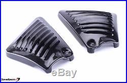 2006-2017 Harley V-Rod Carbon Fiber Frame Infill Tank Side Cover Panel Night Rod