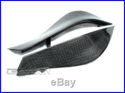 2007 2008 Kawasaki ZX6R Carbon Fiber Side Tank Panels 1x1 plain weave