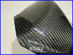 2007 2008 Suzuki GSX-R 1000 Carbon Fiber Gas Tank Front Air Cover Fairing Cowl