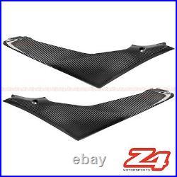 2007 2008 Suzuki GSX-R 1000 Carbon Fiber Gas Tank Side Trim Cover Fairing Cowl