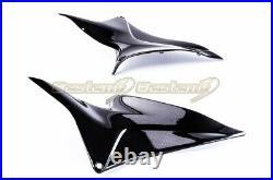 2007-2012 CBR600RR Carbon Fiber Tank Side Panel Fairing Cowl 2011 2010 2009 2008