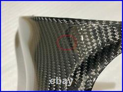 2007-2012 CBR600rr Gas Tank Side Knee Cover Panel Trim Fairing Cowl Carbon Fiber