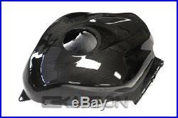 2007 2012 Honda CBR600RR Carbon Fiber Fuel Gas Tank Cover 2x2 Twill Weave