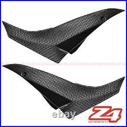 2008 2009 2010 ZX-10R Gas Tank Side Trim Cover Panel Fairing Cowl Carbon Fiber