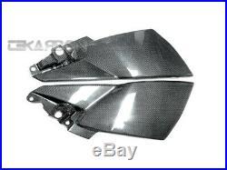 2008 2011 Suzuki GSX1300BK B-King Carbon Fiber Side Tank Panels 1x1 plain