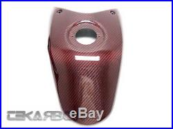 2008 2012 Ducati Hypermotard 796 1100 (s) Carbon Fiber Tank Cover Red Ed