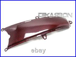 2008 2014 Ducati Monster 696 1100 796 Carbon Fiber Lower Tank Cover Red Twill