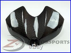 2008-2016 Yamaha R6 Gas Tank Air Box Front Cover Panel Fairing Cowl Carbon Fiber