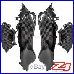 2008-2020 Hayabusa GSX1300R Carbon Fiber Gas Tank Side Cover Trim Fairing Cowl