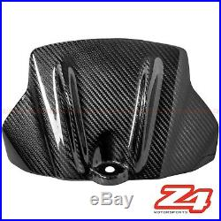 2009-2012 RSV4 Gas Tank Air Box Front Cover Panel Trim Fairing Cowl Carbon Fiber