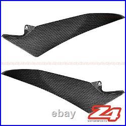 2009-2014 Yamaha R1 Gas Tank Side Trim Cover Panel Cowling Fairing Carbon Fiber