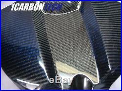 2009 2014 Yamaha Yzf R1 Carbon Fiber Gas Tank Fairing Blue Hybrid