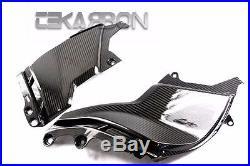 2009 2015 Aprilia Mana 850 Carbon Fiber Side Tank Panels 2x2 twill
