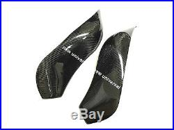 2009-2015 Kawasaki ZX6R ZX636 Carbon Fiber Gas Tank Protector Covers