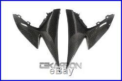 2009 2015 Suzuki GSXR 1000 Carbon Fiber Side Tank Fairings 2x2 twill weaves