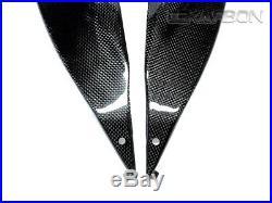 2009 2015 Suzuki GSXR 1000 Carbon Fiber Side Tank Panels- 1x1 plain weaves