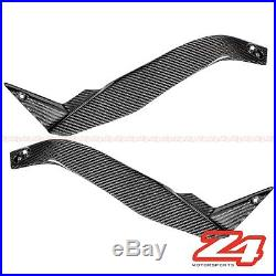 2010-2013 Kawasaki Z1000 Gas Tank Side Frame Cover Fairing Cowling Carbon Fiber