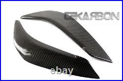 2011 2012 2013 Yamaha FZ8 Carbon Fiber Side Tank Panels- 2x2 twill Weaves