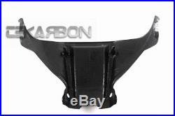 2011 2015 Kawasaki ZX10R Carbon Fiber Front Tank Cover 1x1 Plain Weaves