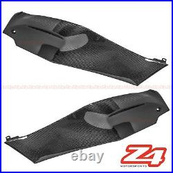 2011-2015 Ninja ZX-10R Gas Tank Side Trim Cover Panel Cowl Fairing Carbon Fiber