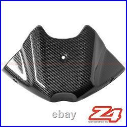 2011-2015 Speed Triple / R Carbon Fiber Gas Tank Front Cover Panel Fairing Cowl
