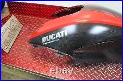 2011 2017 Ducati Diavel 1200 Oem Carbon Fiber Gas Tank Cover Dd2